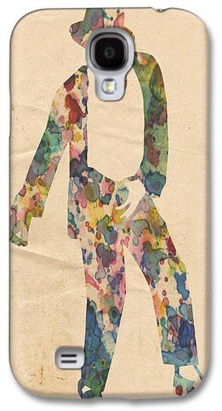 Mj Digital Galaxy S4 Cases - King of Pop In Concert no 14 Galaxy S4 Case by Florian Rodarte