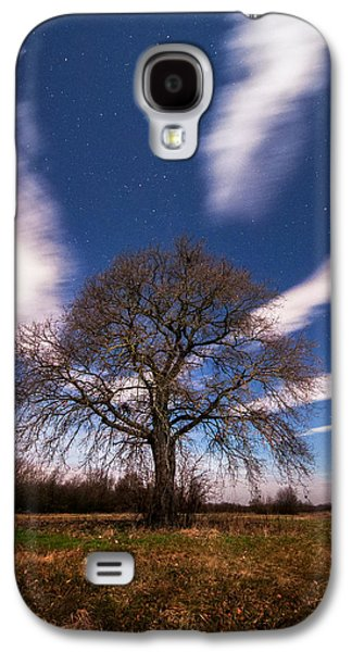 Moonscape Galaxy S4 Cases - King of the night Galaxy S4 Case by Davorin Mance