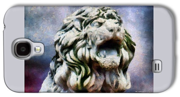 Statue Portrait Galaxy S4 Cases - King of the Sky Galaxy S4 Case by RC deWinter