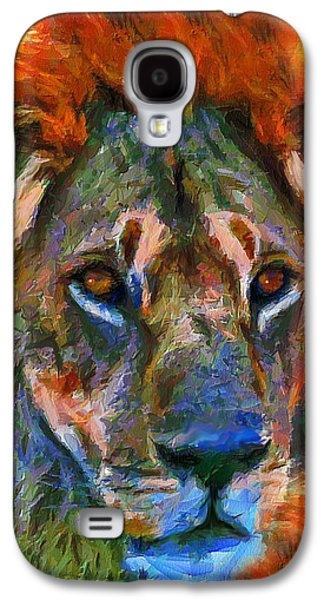 Best Sellers -  - Abstract Digital Mixed Media Galaxy S4 Cases - King Of The Wilderness Galaxy S4 Case by Georgiana Romanovna