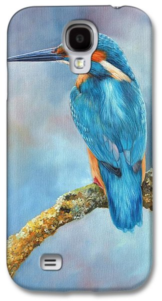 Kingfisher Galaxy S4 Case by David Stribbling