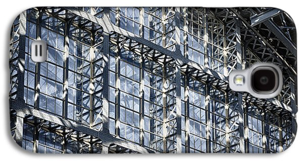 Business Galaxy S4 Cases - Kings Cross St Pancras Windows Galaxy S4 Case by Joan Carroll