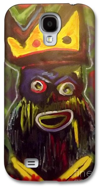 Jay Z Paintings Galaxy S4 Cases - Kings Pride Galaxy S4 Case by Chris Carter