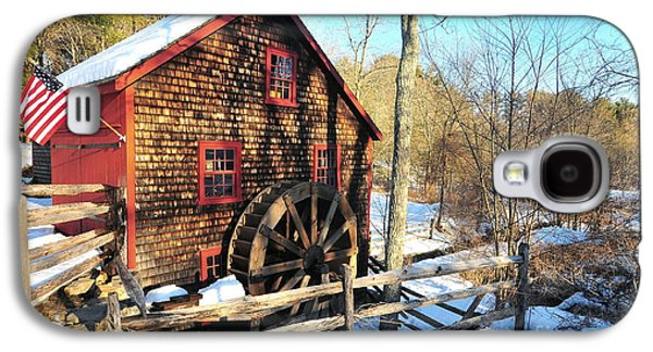 Catherine Reusch Daley Galaxy S4 Cases - Kingsbury Grist Mill Galaxy S4 Case by Catherine Reusch  Daley