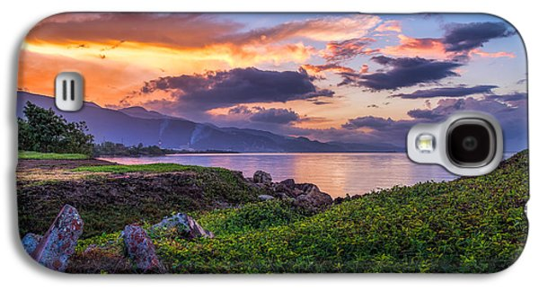 Manley Galaxy S4 Cases - Kingston Sunrise Galaxy S4 Case by Lechmoore Simms