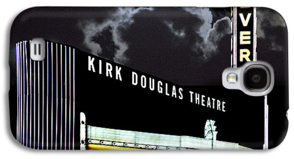 Kirk Galaxy S4 Cases - Kirk Douglas Theatre Galaxy S4 Case by Chuck Staley