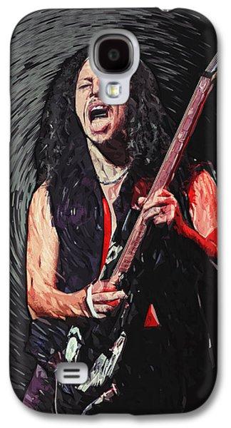 Metallica Galaxy S4 Cases - Kirk Hammett Galaxy S4 Case by Taylan Soyturk