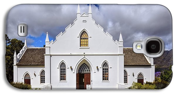 Stellenbosch Galaxy S4 Cases - Kirstenbosch Church Galaxy S4 Case by Maria Coulson