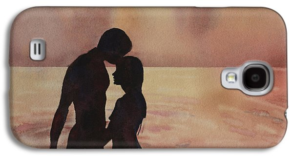 Unity Paintings Galaxy S4 Cases - Kiss in the Water Galaxy S4 Case by Ryan Fox