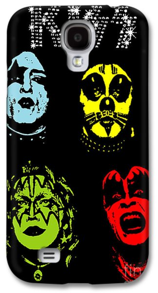 Famous Artist Galaxy S4 Cases - KISS No.02 Galaxy S4 Case by Caio Caldas