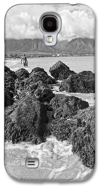 Best Sellers Photographs Galaxy S4 Cases - Kite Beach Maui Hawaii Galaxy S4 Case by Edward Fielding