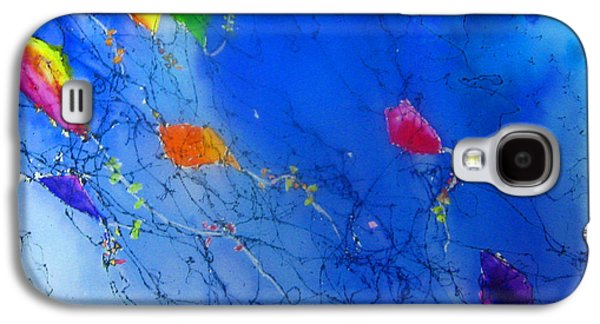 Free Mixed Media Galaxy S4 Cases - Kite Sky Galaxy S4 Case by Anne Duke