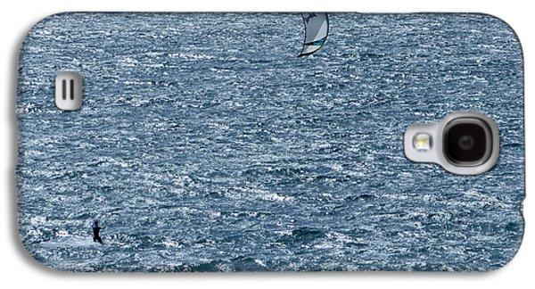 Kite Surfing Galaxy S4 Cases - Kite Surfing Galaxy S4 Case by Brian Roscorla