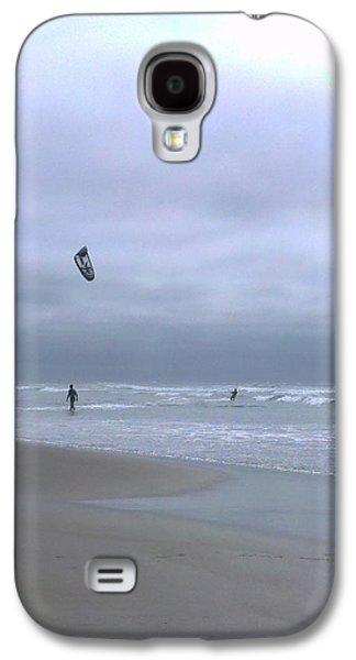 Kite Surfing Galaxy S4 Cases - Kite surfing Galaxy S4 Case by Heather L Giltner