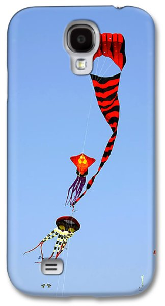 Liberty Galaxy S4 Cases - Kites over Baja California Galaxy S4 Case by Christine Till