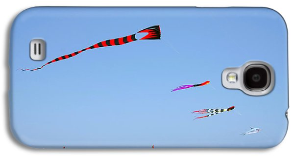 Kite Galaxy S4 Cases - Kites over Cabo Galaxy S4 Case by Christine Till