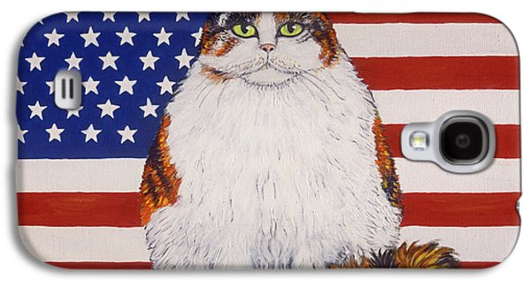 American Independance Paintings Galaxy S4 Cases - Kitty Ross Galaxy S4 Case by Linda Mears