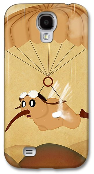 Animation Galaxy S4 Cases - Kiwi  Galaxy S4 Case by Mark Ashkenazi