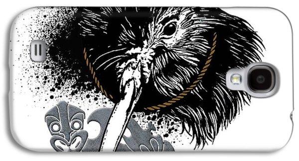 Aotearoa Galaxy S4 Cases - Kiwi Tiki Galaxy S4 Case by Iata Peautolu