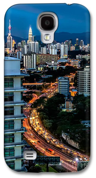 City Lights Galaxy S4 Cases - KL City Galaxy S4 Case by Adrian Evans