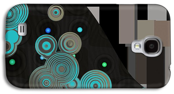 Rectangles Digital Galaxy S4 Cases - Klimtolli - 11 Galaxy S4 Case by Variance Collections