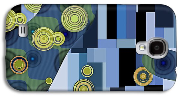 Rectangles Digital Galaxy S4 Cases - Klimtolli - 27 Galaxy S4 Case by Variance Collections