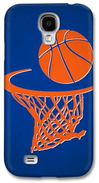 Knicks Team Hoop2 Galaxy S4 Case by Joe Hamilton