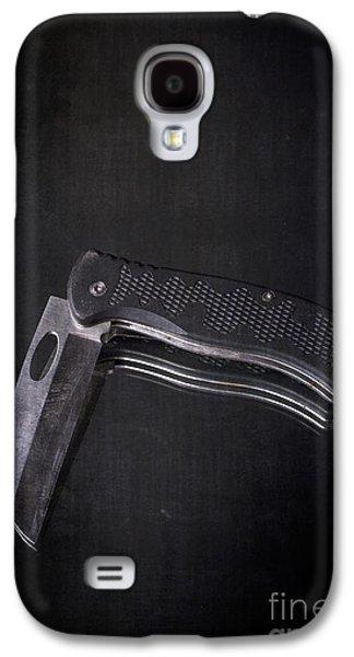 Objects Galaxy S4 Cases - Knife Blade Galaxy S4 Case by Edward Fielding