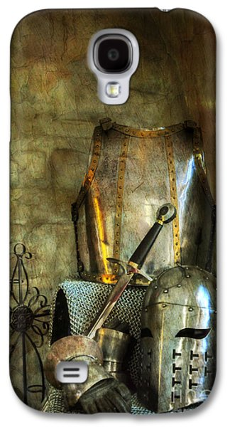 Knight Galaxy S4 Cases - Knight - A Warriors Tribute  Galaxy S4 Case by Paul Ward