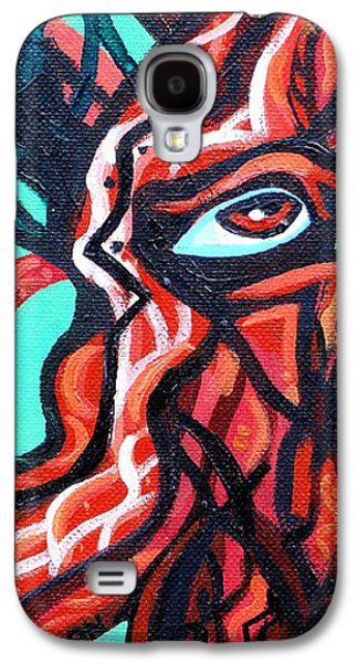 Knotted Tree 2 Galaxy S4 Case by Genevieve Esson