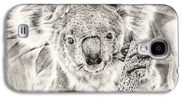 Koala Garage Girl Galaxy S4 Case by Remrov