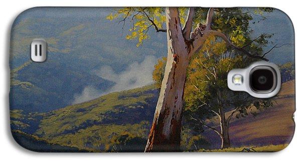 Koala In The Tree Galaxy S4 Case by Graham Gercken