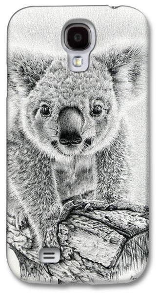 Twinkle Galaxy S4 Cases - Koala Oxley Twinkles Galaxy S4 Case by Heidi Vormer