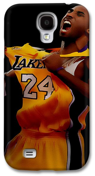 Kobe Bryant Sweet Victory Galaxy S4 Case by Brian Reaves