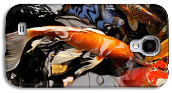 Schools Of Fish Galaxy S4 Cases - Koi Carp Galaxy S4 Case by Panoramic Images