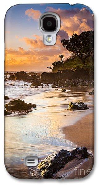 Koki Beach Sunrise Galaxy S4 Case by Inge Johnsson