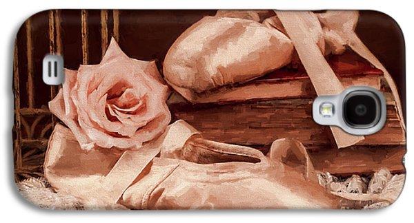 Dance Ballet Roses Galaxy S4 Cases - KoKos Dance Galaxy S4 Case by Jody Thompson