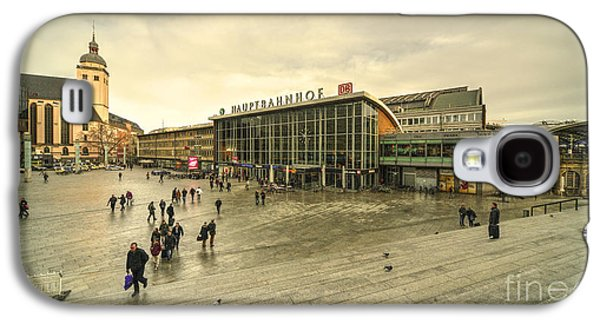 Bahn Galaxy S4 Cases - Koln Hauptbahnhof  Galaxy S4 Case by Rob Hawkins