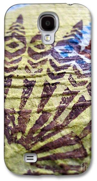 Contemporary Abstract Tapestries - Textiles Galaxy S4 Cases - Kuaokala Galaxy S4 Case by Dalani Tanahy