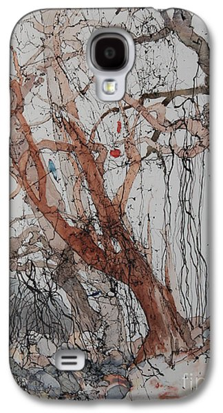 Elizabeth Carr Galaxy S4 Cases - Kudzu Winter Galaxy S4 Case by Elizabeth Carr