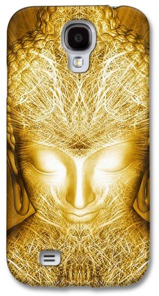 Liberation Galaxy S4 Cases - Kundalini Experience Galaxy S4 Case by Jalai Lama
