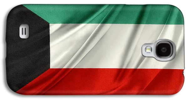 Iraq Galaxy S4 Cases - Kuwait flag  Galaxy S4 Case by Les Cunliffe