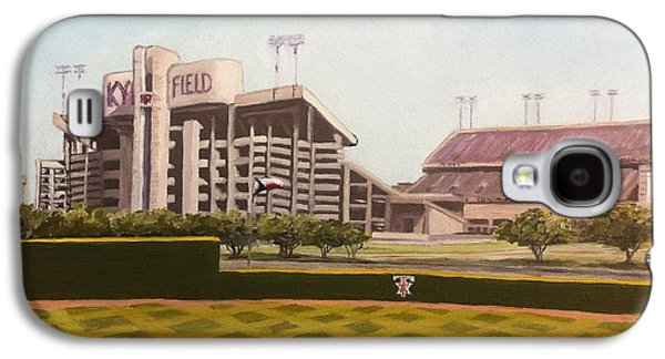 Baseball Stadiums Paintings Galaxy S4 Cases - Kyle Field Galaxy S4 Case by Wade Powell