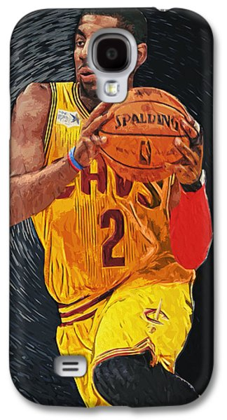 Kyrie Irving Galaxy S4 Case by Taylan Soyturk