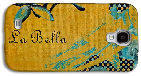 Abstract Realism Digital Art Galaxy S4 Cases - La Bella - 01t04yb Galaxy S4 Case by Variance Collections
