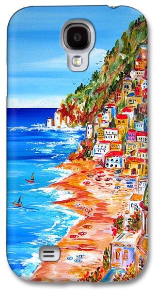 La Bella Positano Amalfi Coast Galaxy S4 Case by Roberto Gagliardi