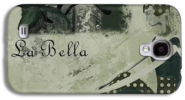 Abstract Realism Digital Art Galaxy S4 Cases - La Bella - Vieillot - 064067152-01 Galaxy S4 Case by Variance Collections