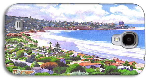 La Jolla California Galaxy S4 Case by Mary Helmreich
