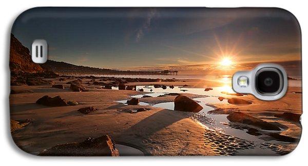Sun Galaxy S4 Cases - La Jolla Sunset 8 Galaxy S4 Case by Larry Marshall