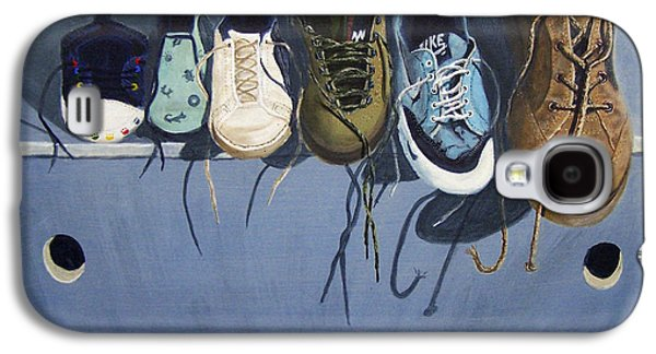 Nike Paintings Galaxy S4 Cases - La Marche Du Temps  Galaxy S4 Case by Dominique Serusier